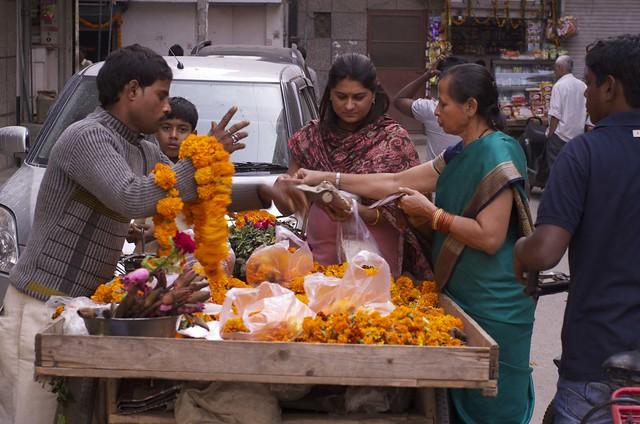 Portraits of an urban village- preparing for Diwali.- Arjun Nagar- New Delhi