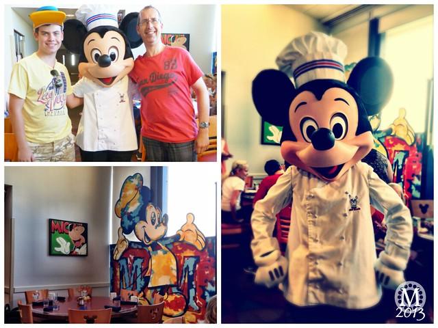 Breakfast at Chef Mickeys