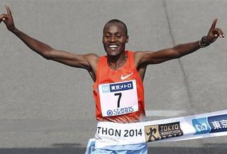 Dickson Chumba - Maratón de Tokio 2014