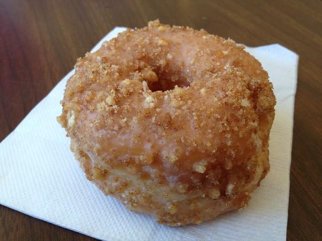 Apple cinnamon donut - Donut King