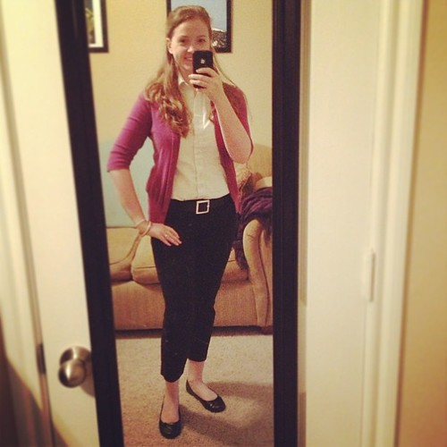 Simple purple #ootd for the United Way Kickoff this morning!