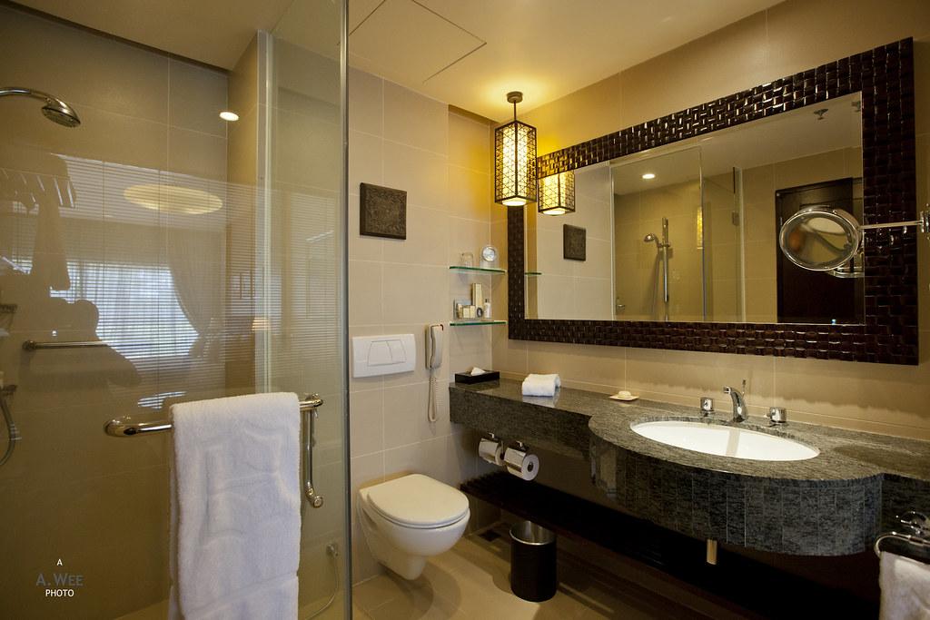 Bathroom in the Kinabalu Wing