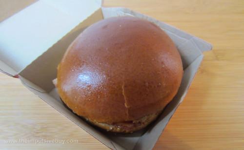 Wendy's Bacon Portabella Melt on Brioche Bun Top