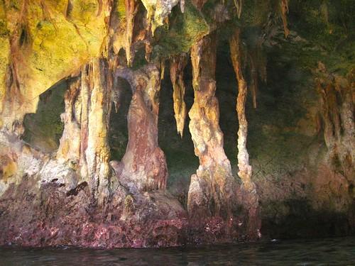 Inside Rocky Dundas cave