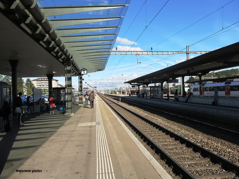Platform 1, Solothurn Station