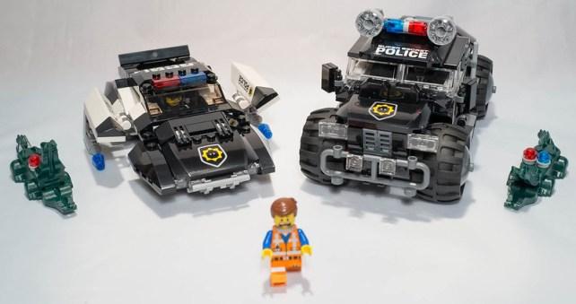 REVIEW LEGO Movie 70802 - La poursuite de méchant flic