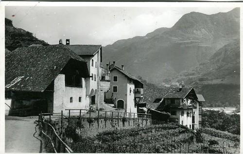 postcard - bolzano - via rafenstein -