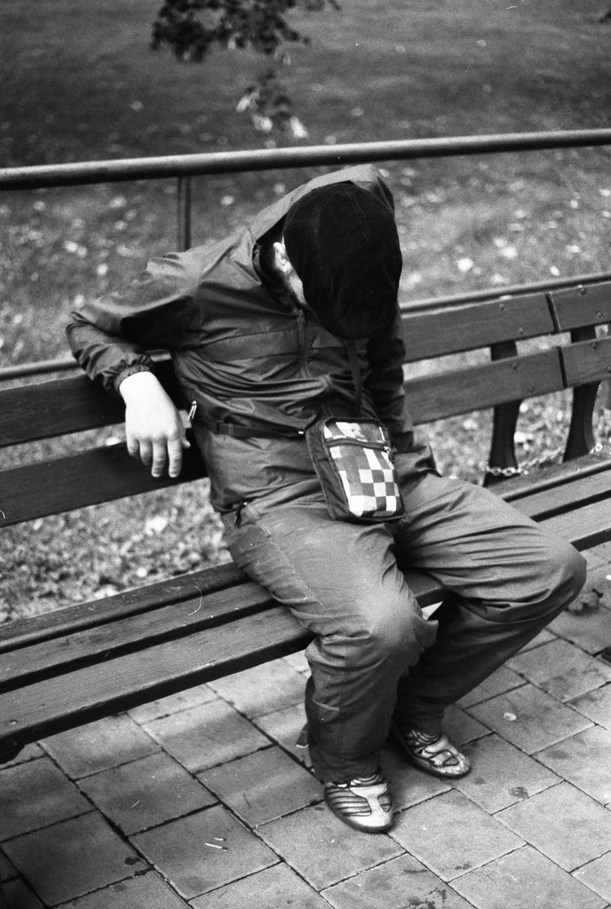 Canon EOS30 - New Scan -  New Scan - Tired Man on the Bench