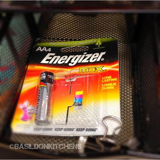 July 17 - I always have spare battery/batteries for my wireless mouse & keyboard @ work!  #photoaday #battery #energizer #work