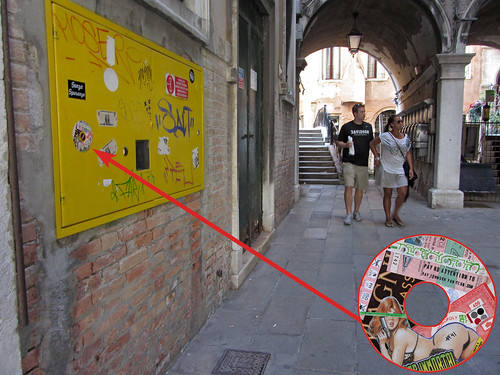 RJFC sticker #41 left in Venice