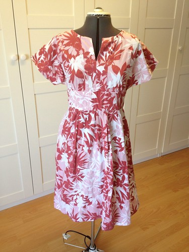 red tropical Duro Junior Simplicity 3875