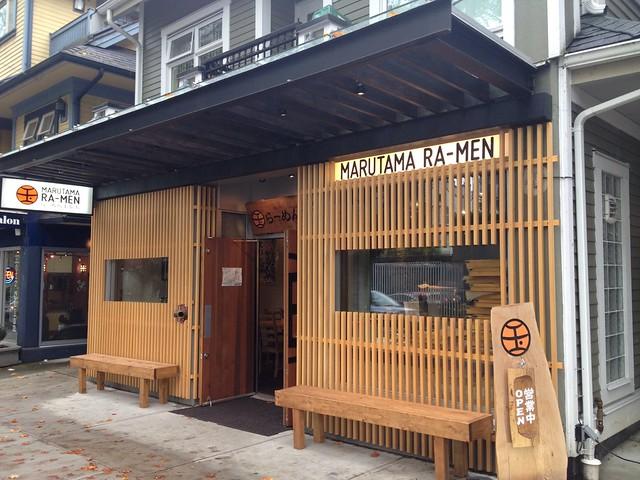 Ramen lunch in Vancouver