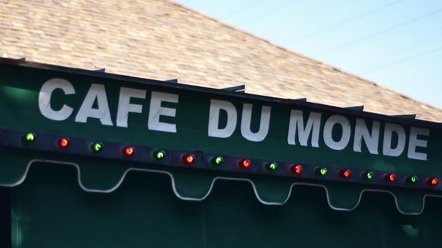 Cafe du Monde Awning