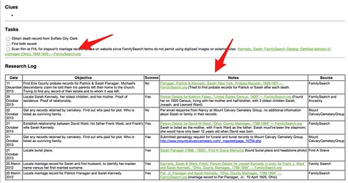 Evernote Research Log bottom for KENNEDY Sarah