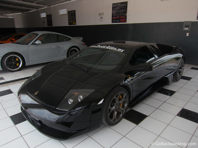 The 563-horsepower Lamborghini Murcielago LP640