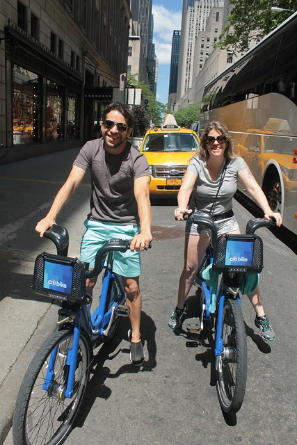 From Brazil - Loving Citibike