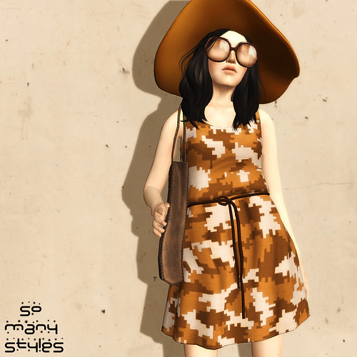Safari Belted Dress for The Boutique