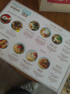 Cafe Shibuya Menu