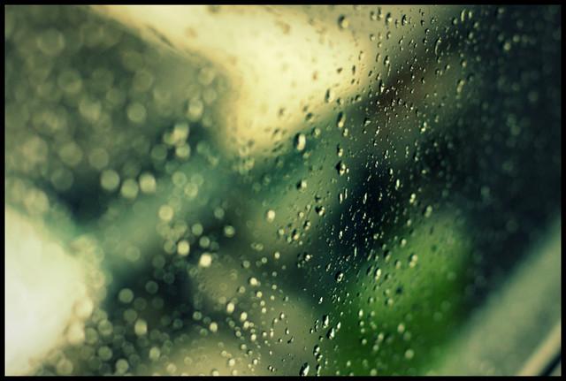 late afternoon rain in bangkok