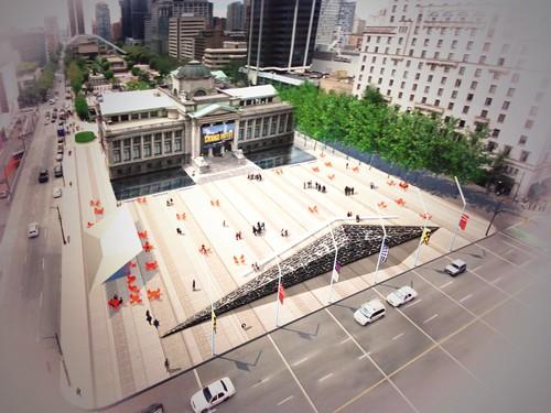 North Plaza Concept - Active Edge