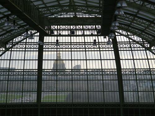 Paris Through the Grand Palais Glass