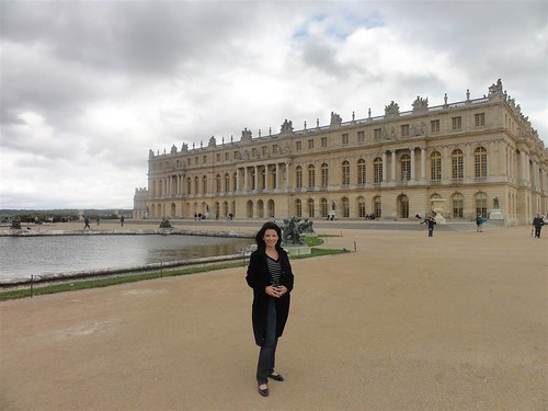 The Hutchings at Palace of Versailles
