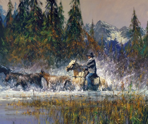 Robert Hagan Western Art Paintings