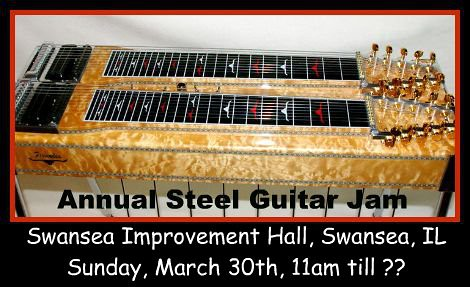 Annual Steel Guitar Jam 3-30-14