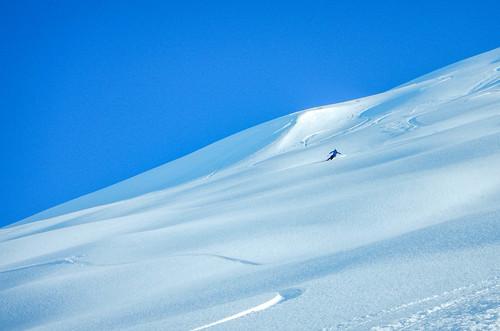 Alaskan skiing