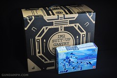 Hot Toys Iron Man 2 - Suit-Up Gantry with Mk IV Review MMS160 Unboxing - day1 (2)