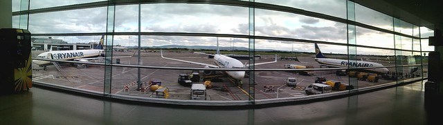 Dublin Airport, near Gate 107