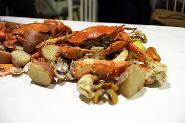 Crab in da Bag @ Big Splash