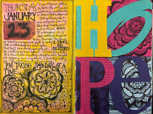 Art Journal Every Day -HOPE