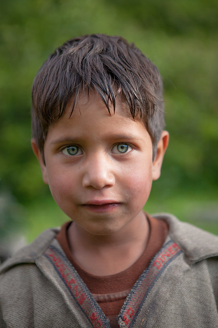 A boy from Chatpal, Kashmir, India