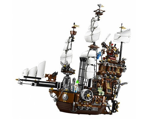 The LEGO Movie 70810 MetalBeard's Sea Cow set 2