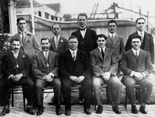 Freeleagus brothers, ca. 1929