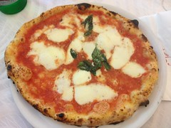 A real pizza - the famous pizza margarita