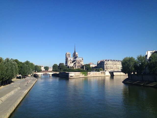View of Notre Dame Cathedral