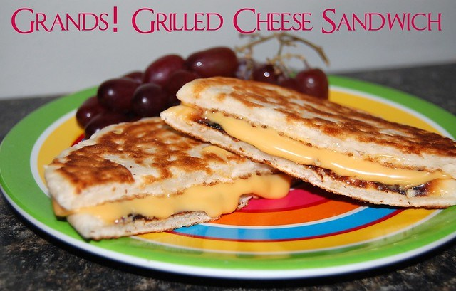 Grands! Grilled cheese sandwich
