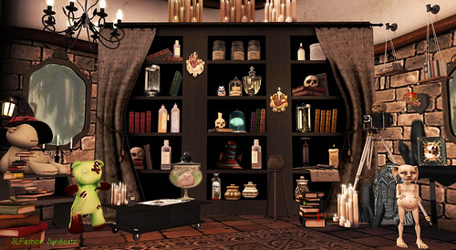 witchesworkroombookcase