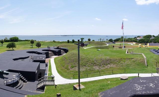 Fort Moultrie (composite image), Sullivan's Island, South Carolina, June 14, 2012