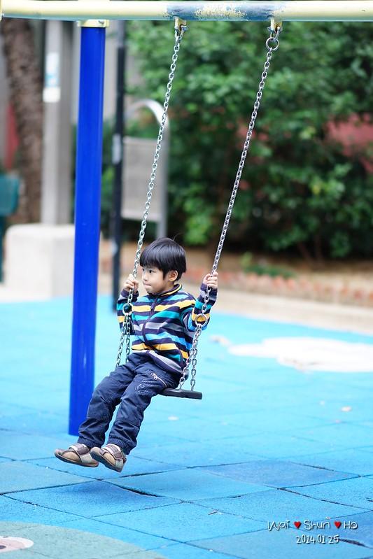 Swing slowly