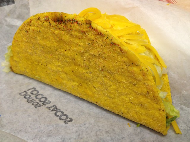 Cool ranch locos taco - Taco Bell