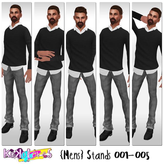 [KoKoLoReS]{Mens} Stands 001-005