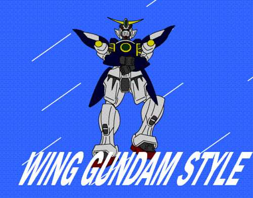 wing gundam style