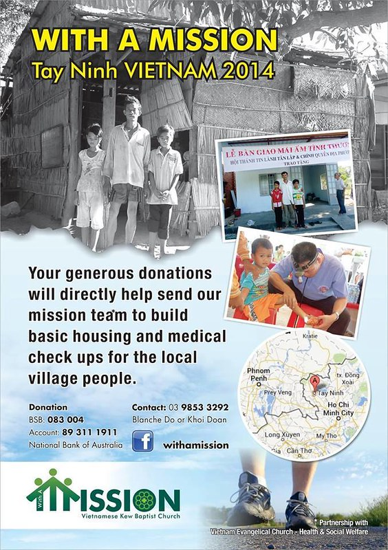 With A Mission - Tay Ninh Vietnam 2014