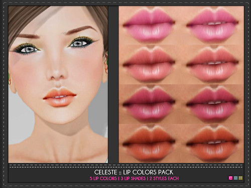 Celeste Lip Colors Pack