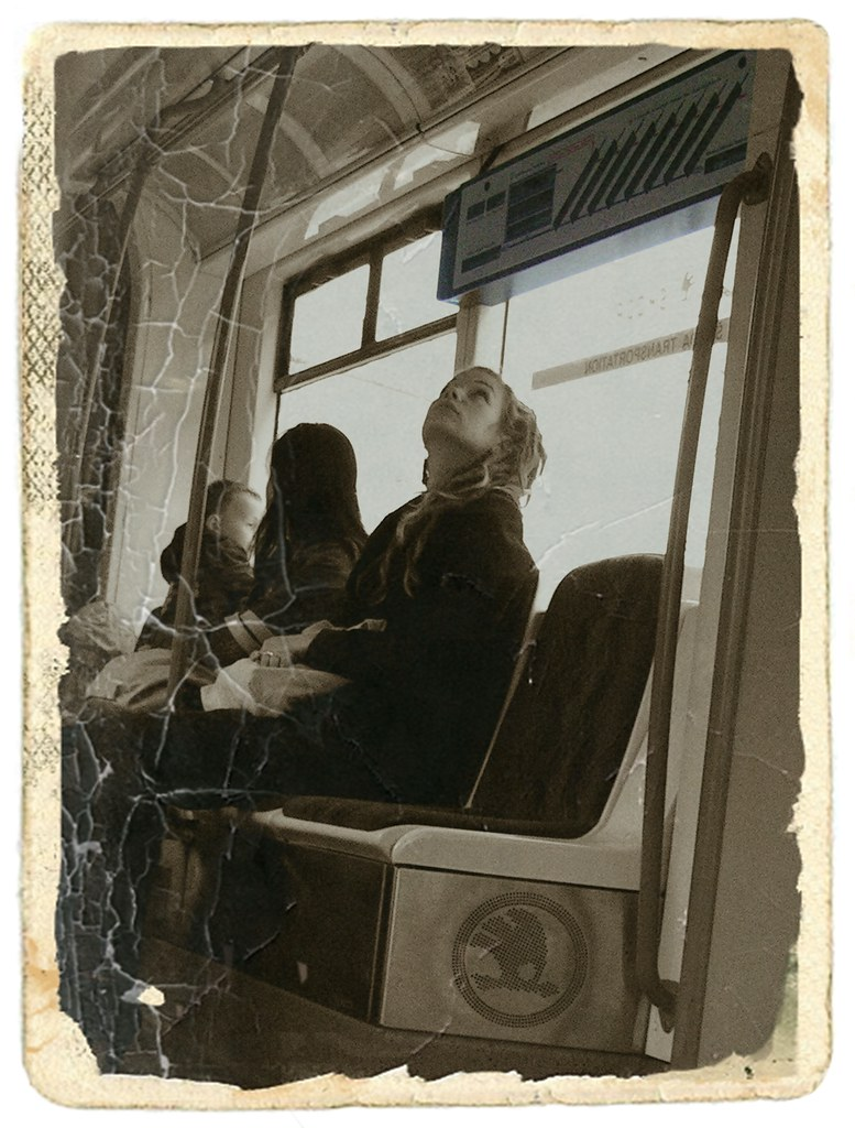 Girl in the Tram