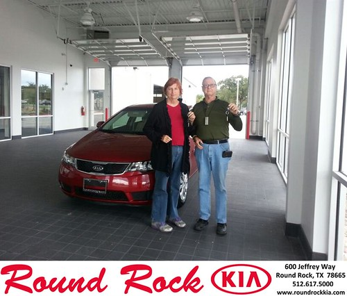 Thank you to Ervin Light on your new 2012 #Kia #Forte from Rudy Armendariz and everyone at Round Rock Kia! #LoveMyNewCar by RoundRockKia