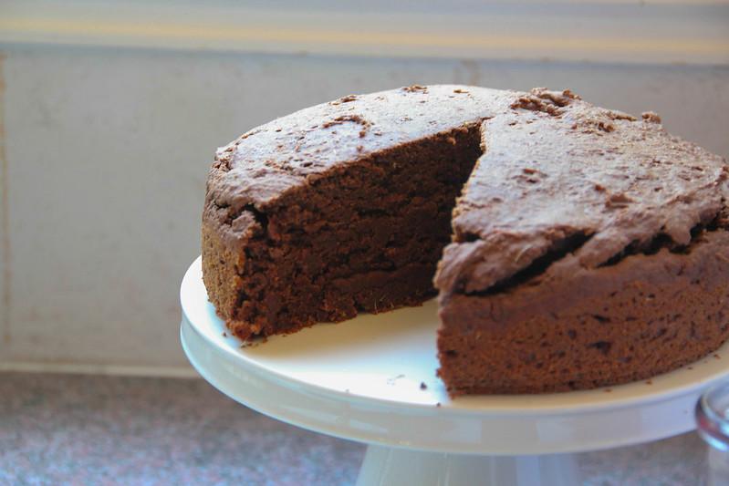 serious chocolate cake